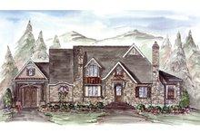 House Plan Design - Craftsman Exterior - Front Elevation Plan #54-371