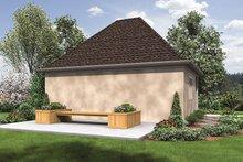 Craftsman Exterior - Rear Elevation Plan #48-918