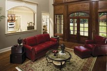 Dream House Plan - Country Interior - Family Room Plan #929-678