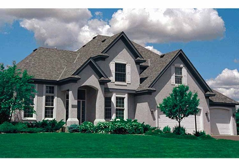 Traditional Exterior - Front Elevation Plan #51-928 - Houseplans.com