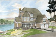 Craftsman Exterior - Front Elevation Plan #928-34