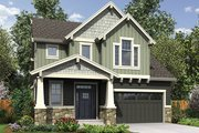 Craftsman Style House Plan - 4 Beds 2.5 Baths 2128 Sq/Ft Plan #48-924 Exterior - Front Elevation