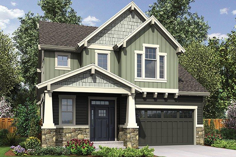 Craftsman Exterior - Front Elevation Plan #48-924 - Houseplans.com