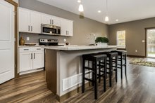 Architectural House Design - Traditional Interior - Kitchen Plan #70-1474