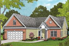 House Plan Design - Colonial Exterior - Front Elevation Plan #453-628