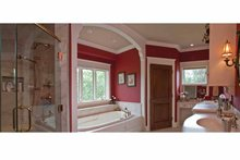 Tudor Interior - Master Bathroom Plan #928-27