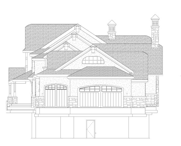Craftsman Floor Plan - Other Floor Plan Plan #937-20