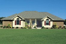 Architectural House Design - Traditional Exterior - Front Elevation Plan #20-2244