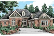 Country Exterior - Front Elevation Plan #927-440