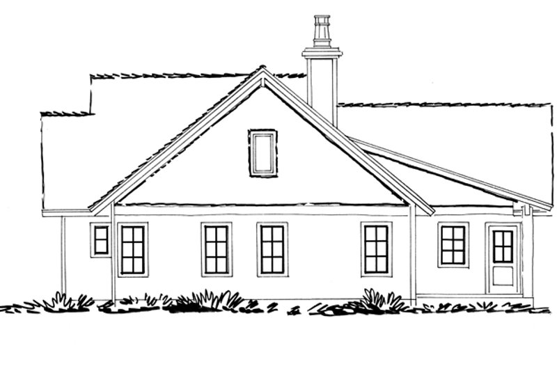 Ranch Exterior - Other Elevation Plan #942-15 - Houseplans.com