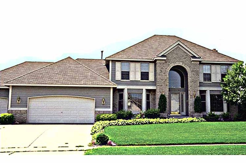 Traditional Exterior - Front Elevation Plan #51-852 - Houseplans.com