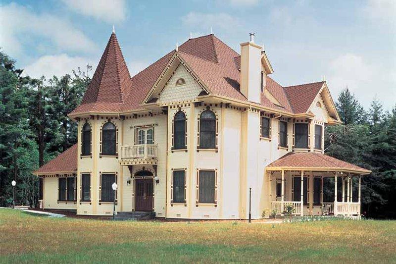 House Blueprint - Victorian Exterior - Front Elevation Plan #72-803