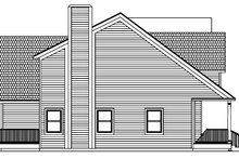 Colonial Exterior - Other Elevation Plan #1061-4