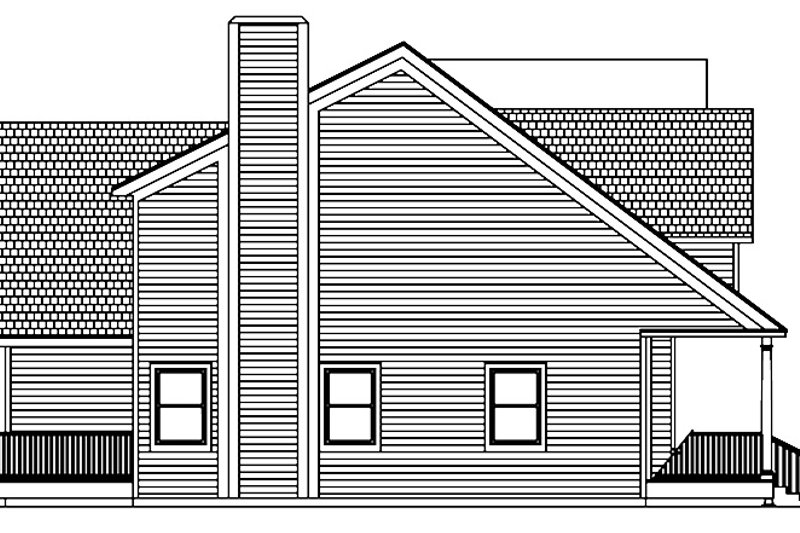 Colonial Exterior - Other Elevation Plan #1061-4 - Houseplans.com