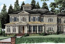 Home Plan - Classical Exterior - Front Elevation Plan #927-481