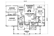 Farmhouse Style House Plan - 4 Beds 3 Baths 2481 Sq/Ft Plan #513-2050