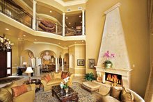 Mediterranean Interior - Family Room Plan #1017-14
