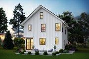 Farmhouse Style House Plan - 3 Beds 2.5 Baths 1394 Sq/Ft Plan #48-992 Exterior - Rear Elevation