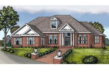 Colonial Exterior - Front Elevation Plan #314-274