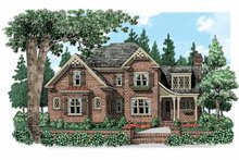 House Design - Country Exterior - Front Elevation Plan #927-519