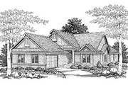 Traditional Style House Plan - 2 Beds 2 Baths 1904 Sq/Ft Plan #70-235 Exterior - Front Elevation