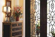 Architectural House Design - Mediterranean Interior - Entry Plan #930-92