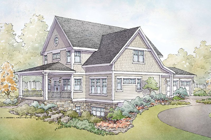 Country Exterior - Front Elevation Plan #928-278 - Houseplans.com