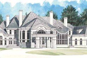 Dream House Plan - European Exterior - Front Elevation Plan #119-382