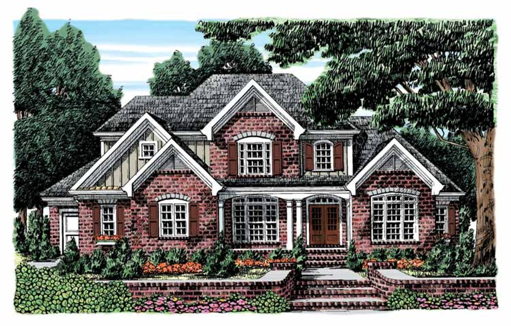 European style house plan 4 beds 3 5 baths 3189 sq ft for Weinmaster house plans