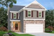Traditional Exterior - Front Elevation Plan #419-221