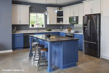 House Plan Design - Contemporary Interior - Kitchen Plan #929-85