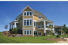 Home Plan - Country Exterior - Rear Elevation Plan #928-250