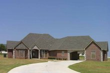 House Plan Design - Country Exterior - Front Elevation Plan #310-1130