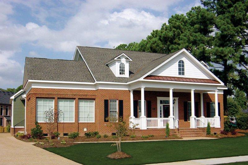 Classical Exterior - Front Elevation Plan #137-315 - Houseplans.com