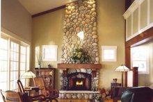 Bungalow Interior - Family Room Plan #928-22
