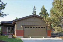 Craftsman Exterior - Other Elevation Plan #895-61