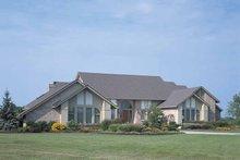 House Blueprint - Contemporary Exterior - Front Elevation Plan #72-788