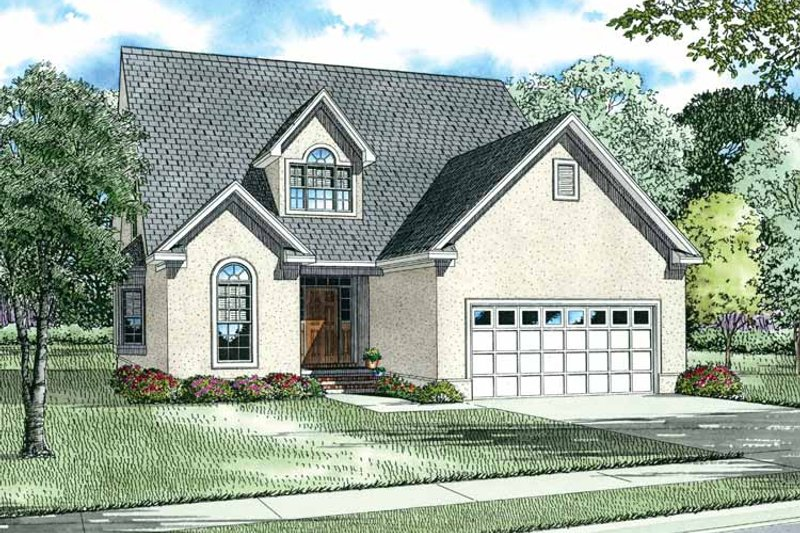 Country Exterior - Front Elevation Plan #17-2689