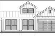 Craftsman Style House Plan - 2 Beds 2 Baths 1419 Sq/Ft Plan #1073-15 Exterior - Front Elevation