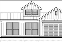Architectural House Design - Craftsman Exterior - Front Elevation Plan #1073-15