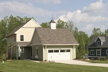 Country Exterior - Front Elevation Plan #928-110