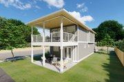 Craftsman Style House Plan - 5 Beds 3.5 Baths 2140 Sq/Ft Plan #126-202