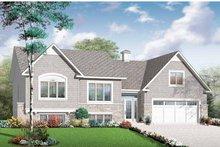 Dream House Plan - Craftsman Exterior - Front Elevation Plan #23-2435