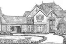 European Exterior - Front Elevation Plan #310-519