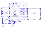 European Style House Plan - 3 Beds 2.5 Baths 3546 Sq/Ft Plan #901-143 Floor Plan - Main Floor Plan