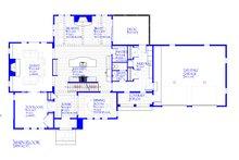 European Floor Plan - Main Floor Plan Plan #901-143