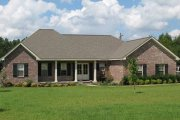 Southern Style House Plan - 3 Beds 2 Baths 1751 Sq/Ft Plan #21-123 Exterior - Other Elevation