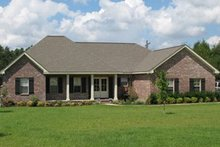 Dream House Plan - Southern Exterior - Other Elevation Plan #21-123