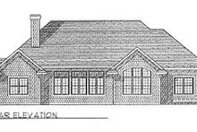 Traditional Exterior - Rear Elevation Plan #70-435