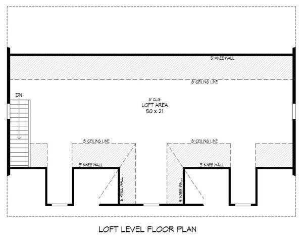 Dream House Plan - Country Floor Plan - Upper Floor Plan #932-124